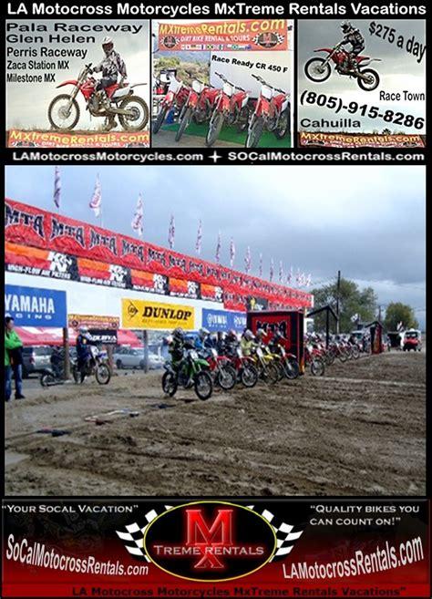 motocross gear los angeles palm desert ca la motocross supercross dirt bike rentals