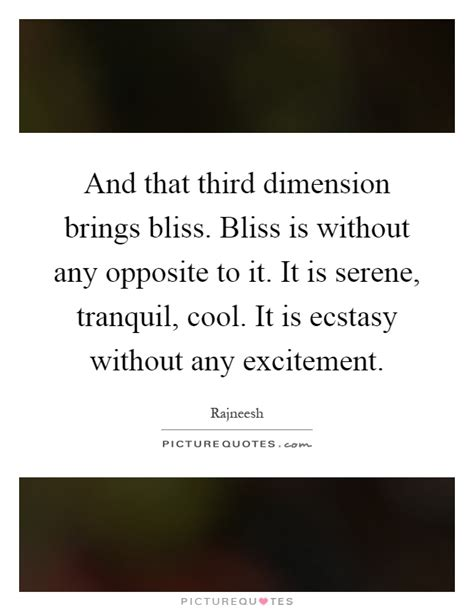 bliss more how to succeed in meditation without really trying books and that third dimension brings bliss bliss is without