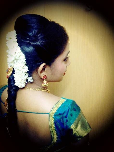 hairstyles for south indian engagement south indian bridal hairstyle engagement pinterest