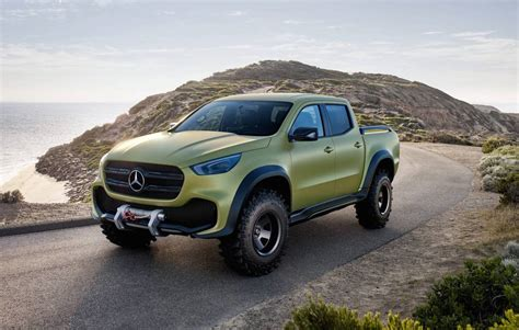 mercedes x class ute in australia for promo dealers