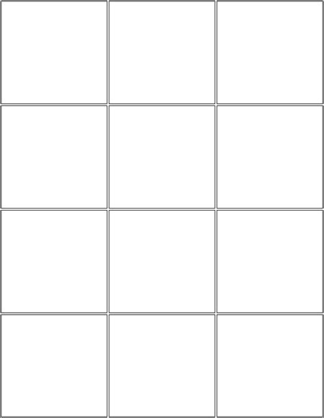 printable blank comic template for 7 best images of comic book panels printable printable