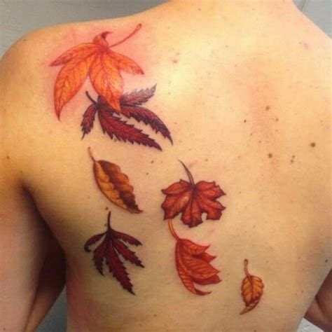 autumn tattoos 17 best ideas about fall leaves on leaf