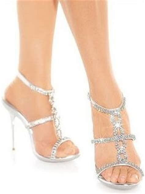 1000 ideas about prom shoes silver on