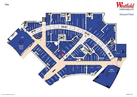 Stratford Westfield Floor Plan | high street retail property to rent ground floor unit