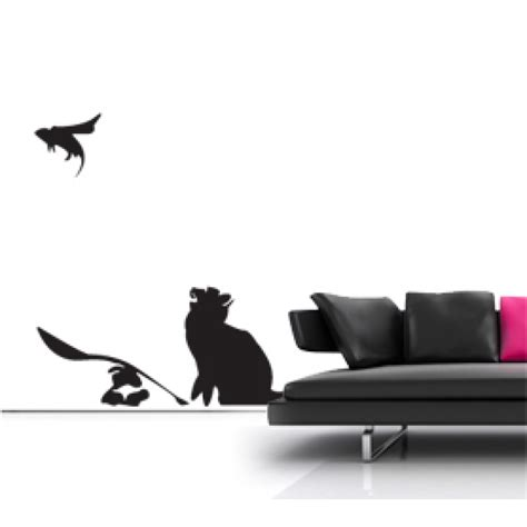 banksy wall stickers uk banksy cat and mouse wall sticker wall stickers