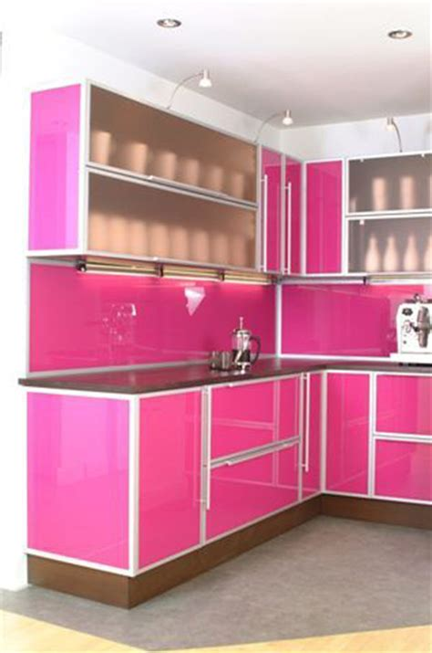 pink kitchen cabinets 10 unique kitchen cabinets make simple design