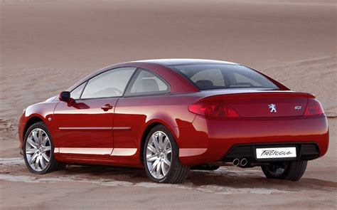 peugeot 407 coupe peugeot 407 coupe 2 2 i 16v 160 hp