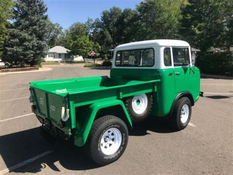 rare restored  willys jeep fc