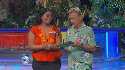 wheel of fortune hot contestant youtube wheel of fortune contestant aleah makuakane youtube