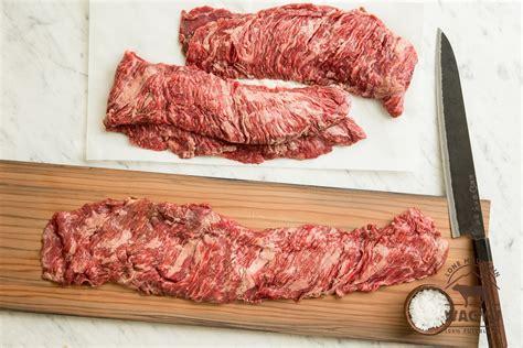 inner skirt steak inside skirt steaks lone mountain wagyu