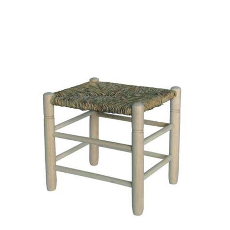 taburetes de enea taburete cuadrado asiento de enea