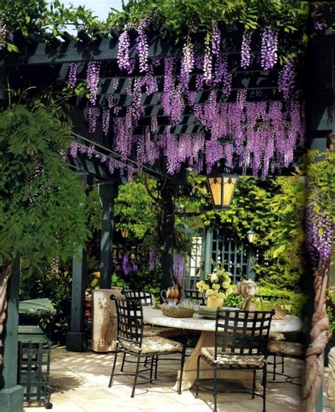 Homes With Interior Courtyards 40 ideas for pergola in the garden good sun protection and