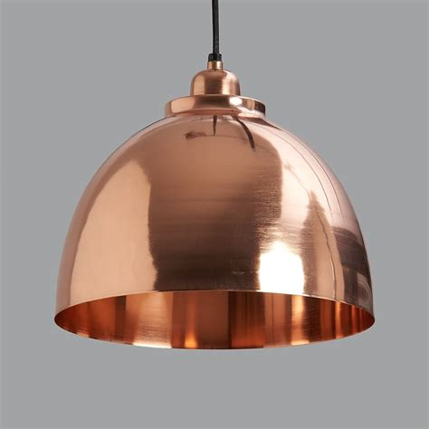 Copper Pendant Lights Copper Plated Pendant Light