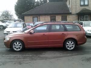 Volvo V50 Estate For Sale Used Volvo V50 Car 2010 Orange Diesel 1 6d Drive S 5 Door