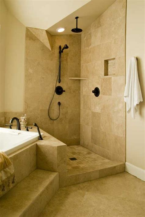 Open Shower Designs Without Doors Bathroom Design Shower Ideas Remodeling Ideas Image Shower Open Showers