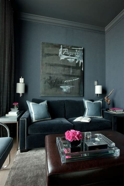 dark walls don t be afraid incorporating dark walls into your home