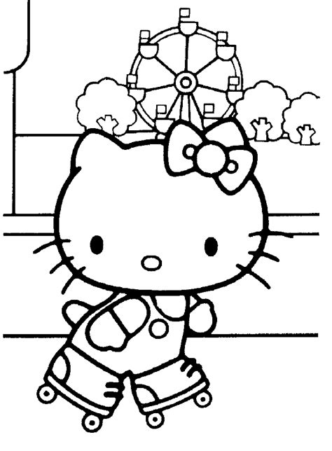 coloring pages of hello kitty coloring pages to print
