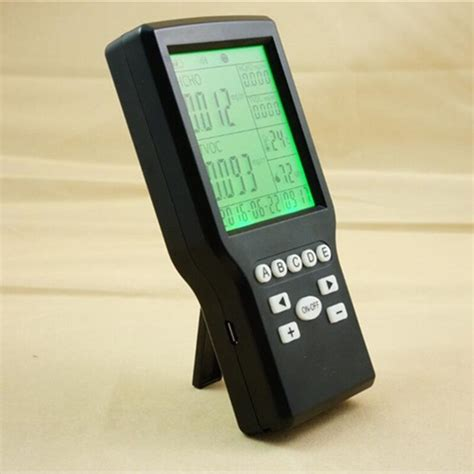 free shipping factory prices handheld intelligent indoor voc monitor portable particle counter