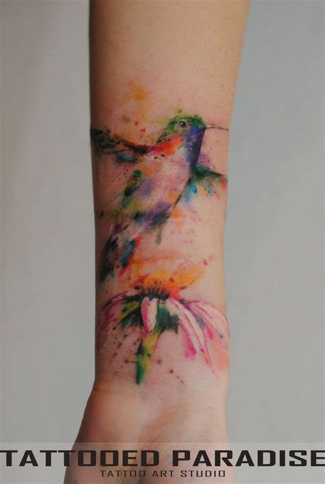 watercolor tattoo names best 25 hummingbird watercolor ideas on