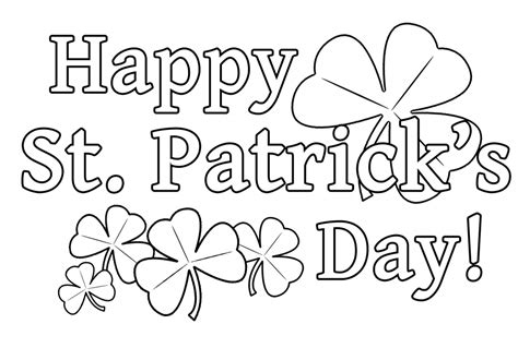 St Patricks Day Coloring Pages Best Coloring Pages For Kids | st patricks day coloring az coloring pages