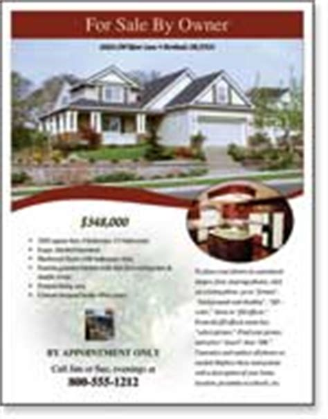 for sale by owner brochure template real estate flyer templates xerox for small businesses