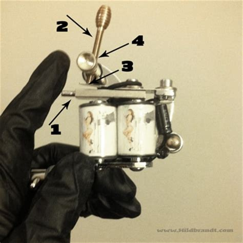 tattoo machine setup how to tune a tattoo machine to work