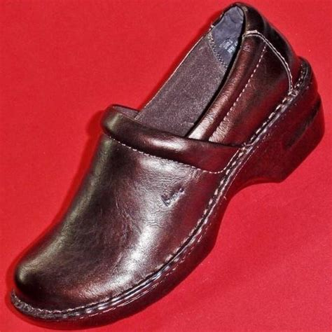 boc shoes clogs new s born boc peggy bronze fashion wedge clogs