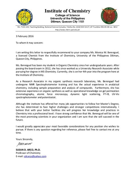 Endorsement Letter For Seminar Endorsement Letter