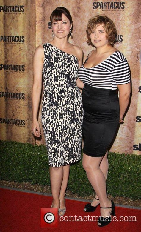 lucy lawless daisy lawless lucy lawless spartacus blood and sand premiere 8