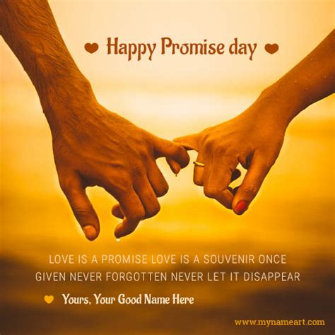 7 Best Promises For Happiness by Happy Promise Day Images Pics Photos Wallpapers