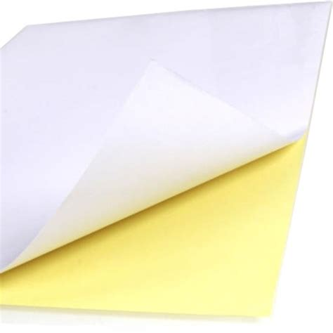Sticker Paper 100pcs a4 sticker paper normal matte printing label