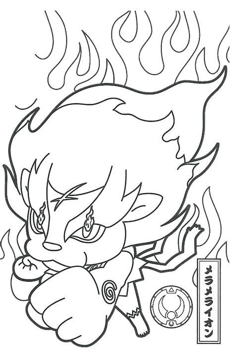 coloring pages yokai coloriages 224 imprimer des personnages fascinants de yo