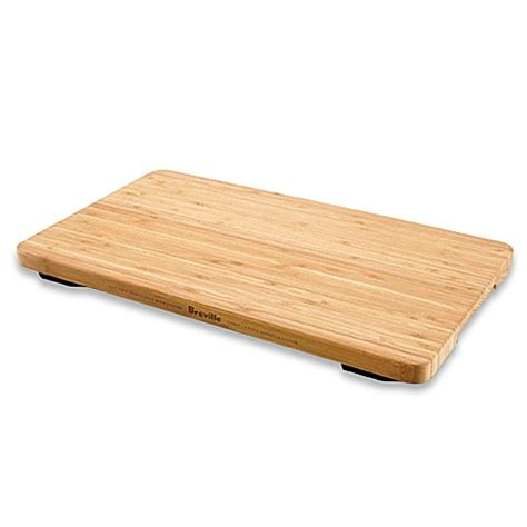 cutting board with trays breville 174 bamboo cutting board and tray bed bath beyond