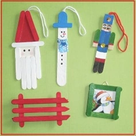 christmas craft ideas stick orniments dump a day