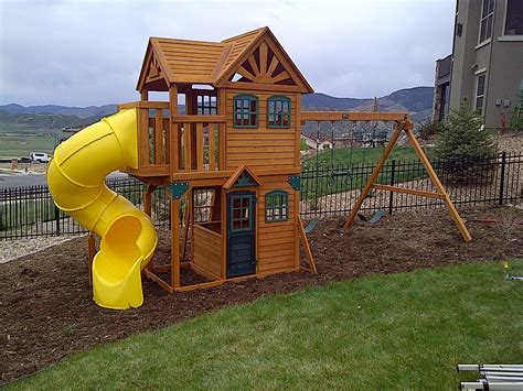 Playground Sets For Backyards Costco by Costco Cedar Summit Mountainview Playset