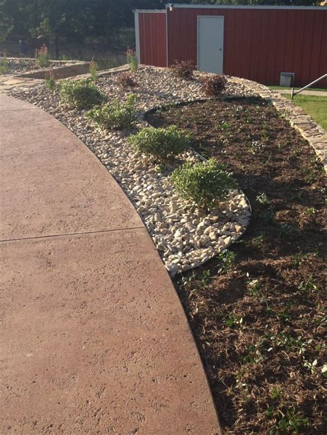 best mulch for flower beds flower bed design with river rock and mulch very few drought tolerant plants