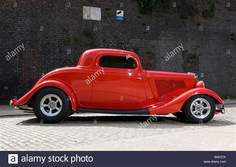 34 Ford Coupe by 34 Ford Rod Fendered 3 Window Chopped Roof