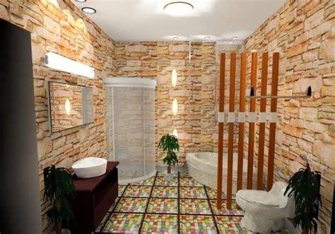 desain kamar nuansa alam desain interior rumah desain kamar mandi minimalis nuansa