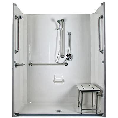 Ada Roll In Shower by Model 5les6331a75b Ada Compliant Roll In Shower