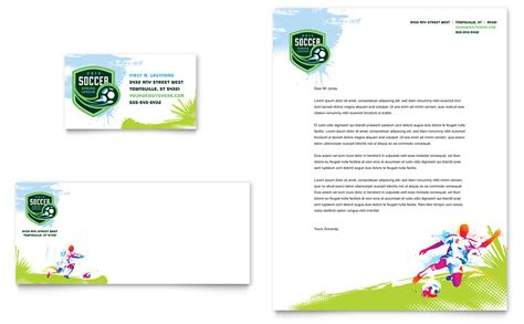 soccer business card templates free youth soccer business card letterhead template word