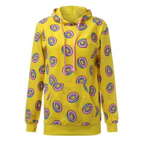 Sweater Hoodie Jaket Exo Got7 Yellow Donut Sweater Hoodie Kpop Mall Usa