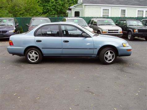Toyota Corolla 94 For Sale Upstate Ny 1994 Toyota Corolla Dx