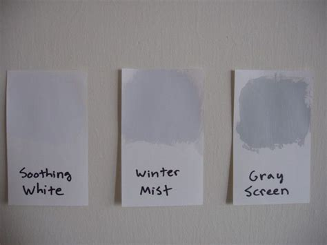 gray screen soothing white winter mist face  home