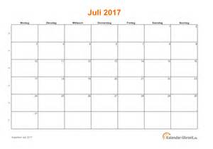 Kalender 2018 Juni Juli Juli 2017 Kalender Mit Feiertagen