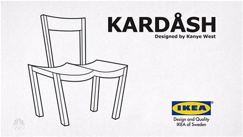 ikea furniture names kanye west ikea memes sweep the web after he said he wants to design for them daily mail