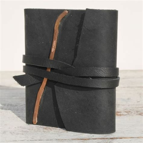 Handmade Leather Bound Books - custom made handmade leather bound pocket journal