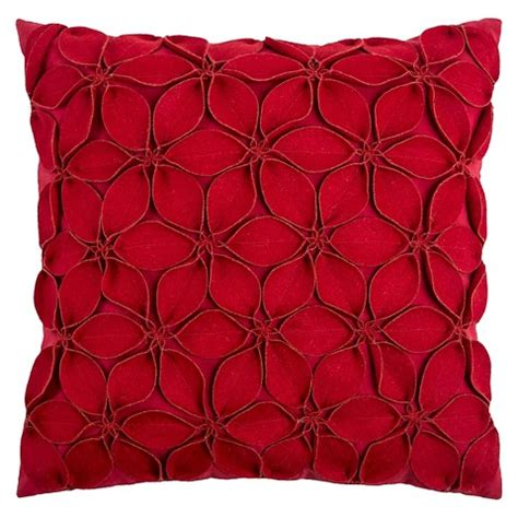 target decorative bed pillows rizzy home leaves applique decorative pillow target