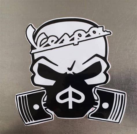 Decal Stiker Pin Up Vespa Jadul vespa custom skull decal sticker vespa ebay and scooters
