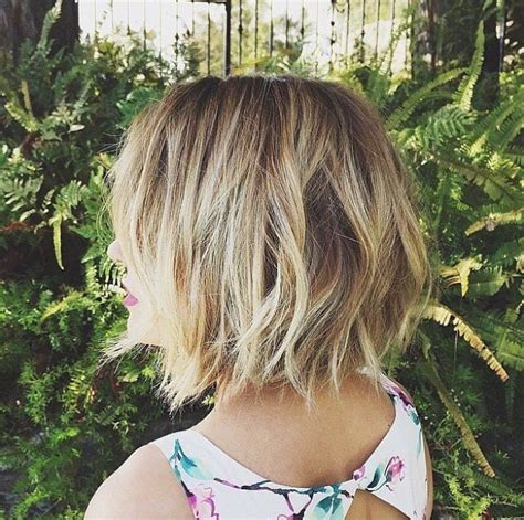 can a lob have layers 17 cute choppy bob hairstyles we love styles weekly