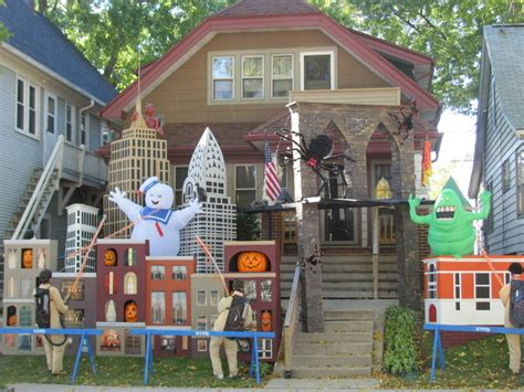 decorated homes for halloween 20 houses that are clearly winning at halloween